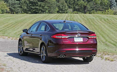 2017 Ford Fusion Sport Acceleration