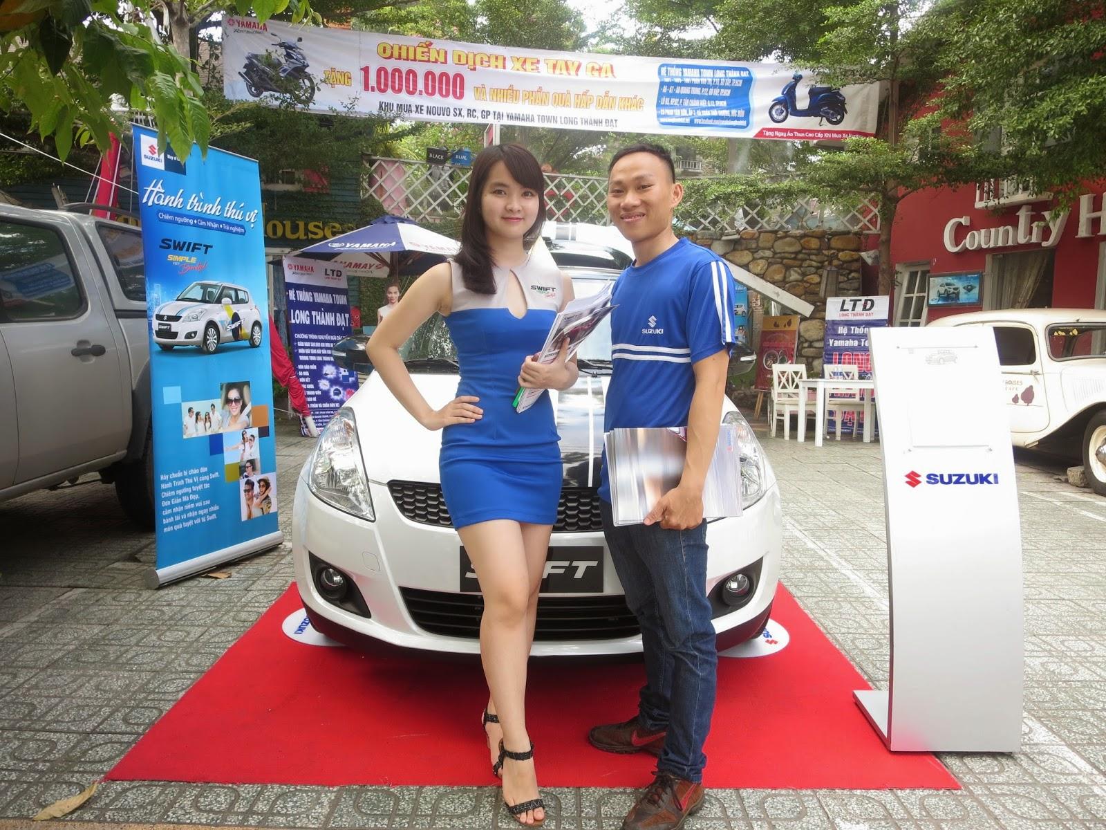 Địa chỉ mua xe hơi suzuki swift tại TPHCM