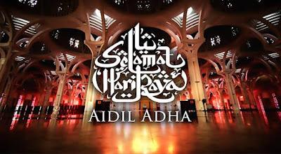 Tarikh Hari Raya Aidiladha 2018 Malaysia