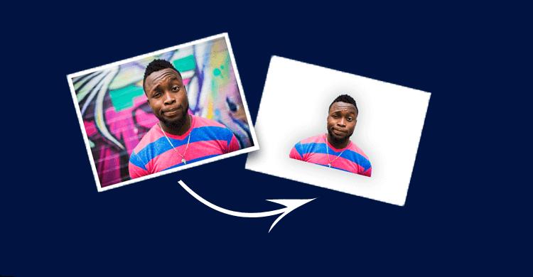 كيفية ازالة الخلفية من الصورة بدون استخدام برامج