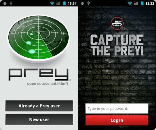 pre-anti theft android tracking app