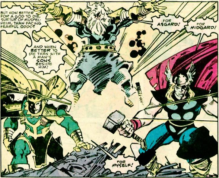 Thanos Family Problems: Comics, Japanese Stuff And More: Thor