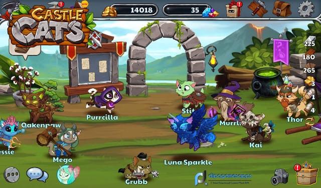 Download Castle Cats MOD APK Unlimited Money/Gems Updated