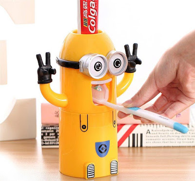 Minions Automatic Toothpastedispenser