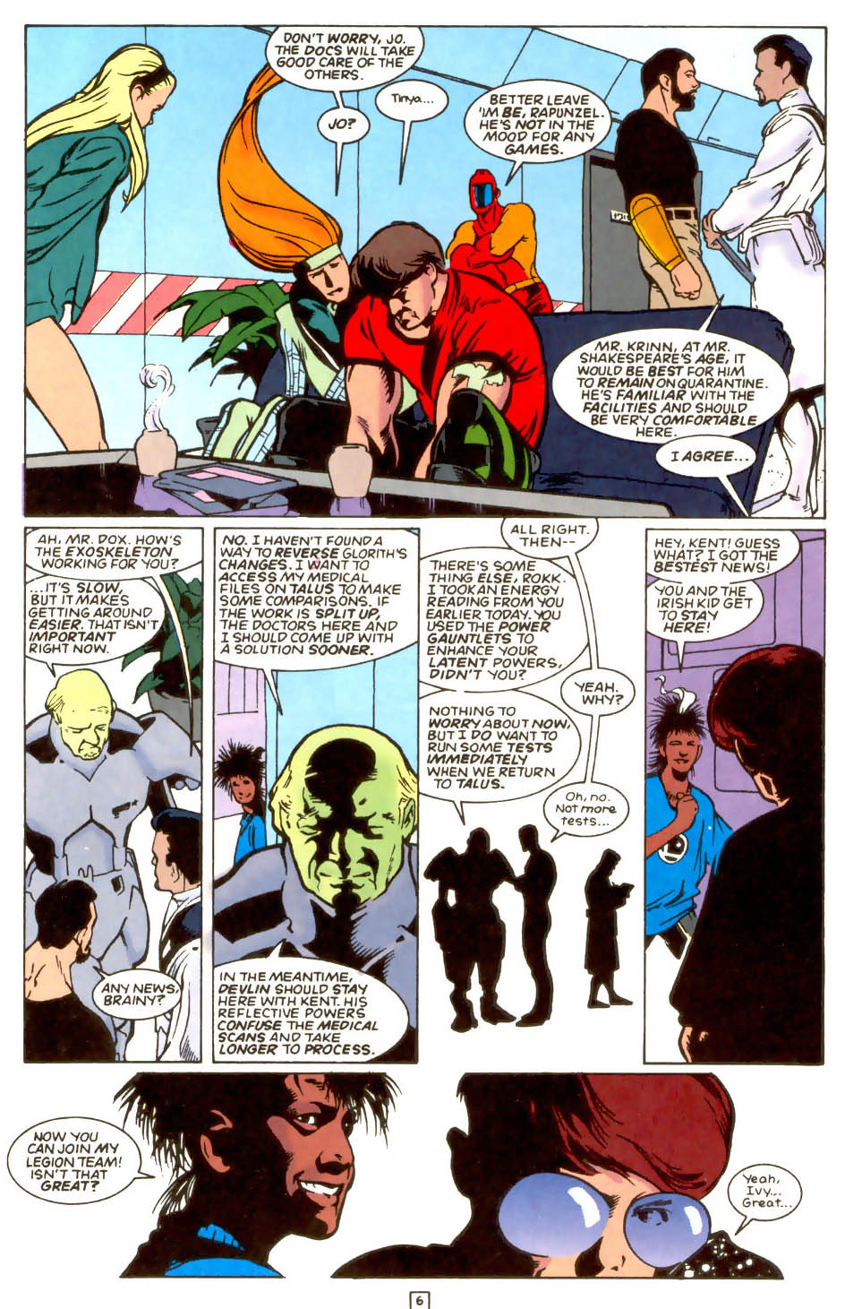 Legion of Super-Heroes (1989) 54 Page 5