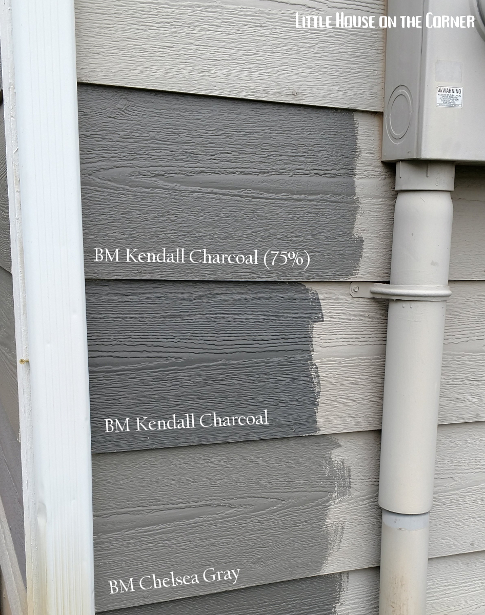 Are The Three Diffe Benjamin Moore Colors For Additional Comparison I M Digging 75 Kendall Charcoal With Chelsea Gray As A Second Favorite