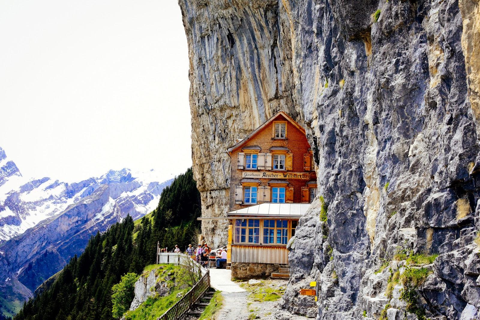 Berggasthaus Aescher-Wildkirchli, Gasthaus Aescher