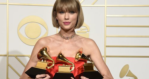 Taylor Swift wins Three Grammys