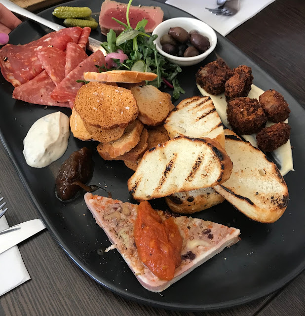 The Plough @ Trentham, Trentham, charcuterie board