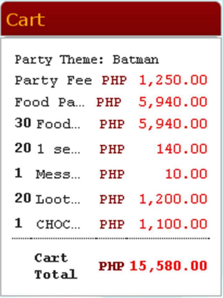Philippines Menu Jollibee Price List