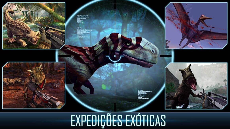 Dino Hunter Deadly Shores v 4.0.0 apk mod DINHEIRO INFINITO