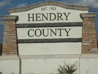 Entrando en Hendry County