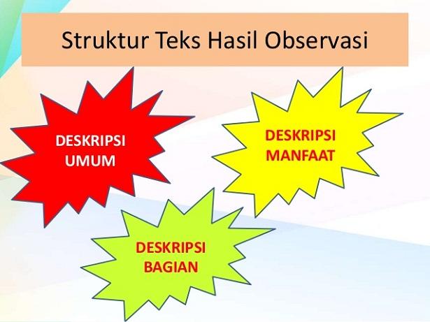 Struktur Dan Kaidah Teks Laporan Hasil Observasi Structure Of Text