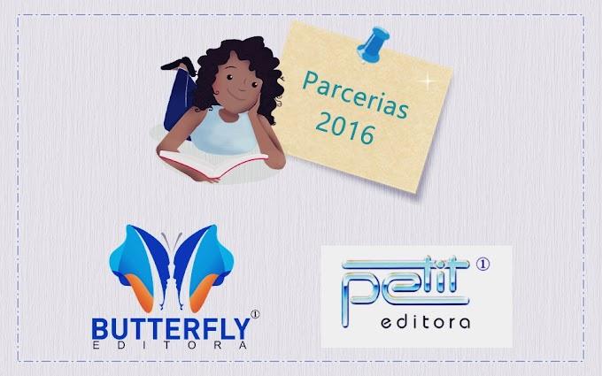 Novas parcerias: Editoras Petit e Butterfly