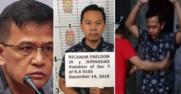 Anak ni BuCor Chief Nicanor Faeldon, Kabilang Sa Mga Nahuli Sa Umano'y Drug Den
