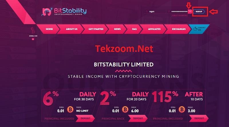 [SCAM] Review BitStability - Lãi 2 - 6% hằng ngày - Đầu tư tối thiểu 0.01 BTC - Thanh toán tức thì