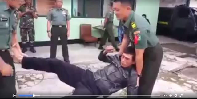 HOAX atau Nyata? Video 2 Anggota TNI Punya Ilmu Kanuragan yang Buat Lawanya Jadi Patung