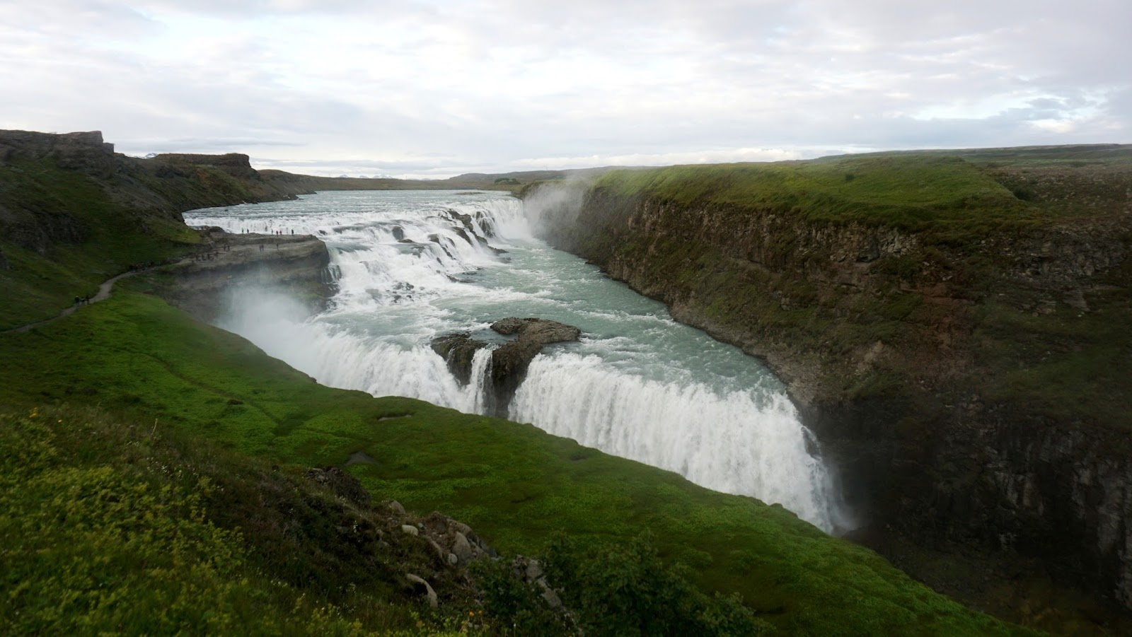 wodospad Gullfoss, islandzki wodospad, Gullfoss, panidorcia, blog o Islandii