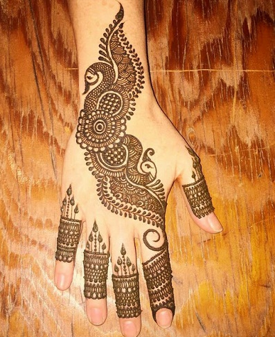 Simple Mehndi Design Images For Hands Latest New Mehandi Designs