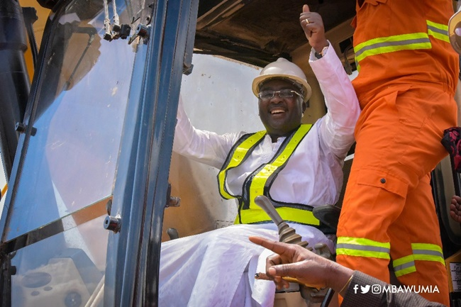 VP Bawumia cuts sod for 1st of 'Commander In Chief's Sports Complex' for Ghana Armed Forces