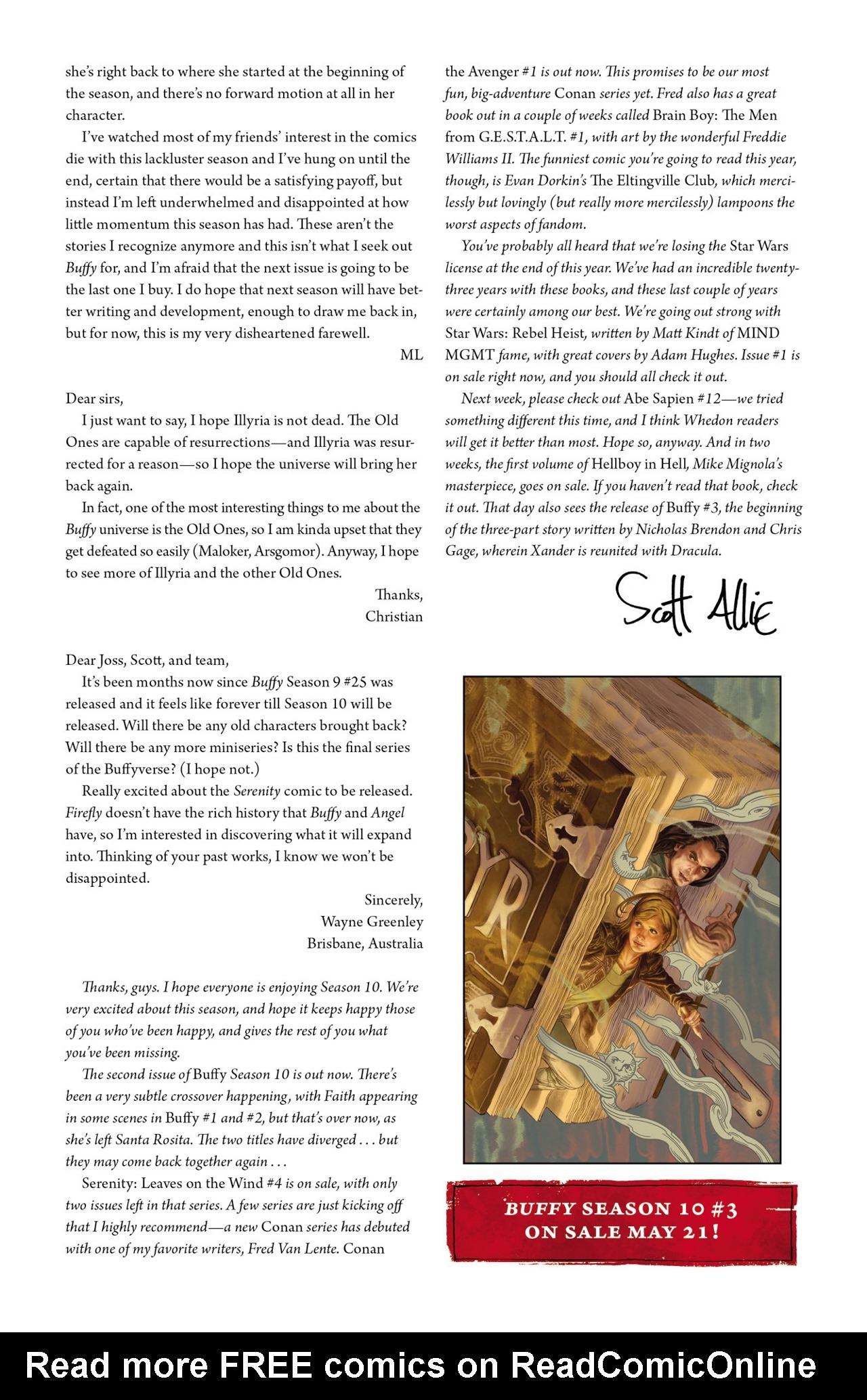 Read online Angel & Faith Season 10 comic -  Issue #2 - 26