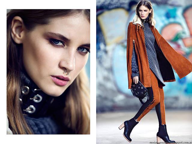 Moda otoño invierno 2016 Mujer. Kosiuko abrigos otoño invierno 2016.