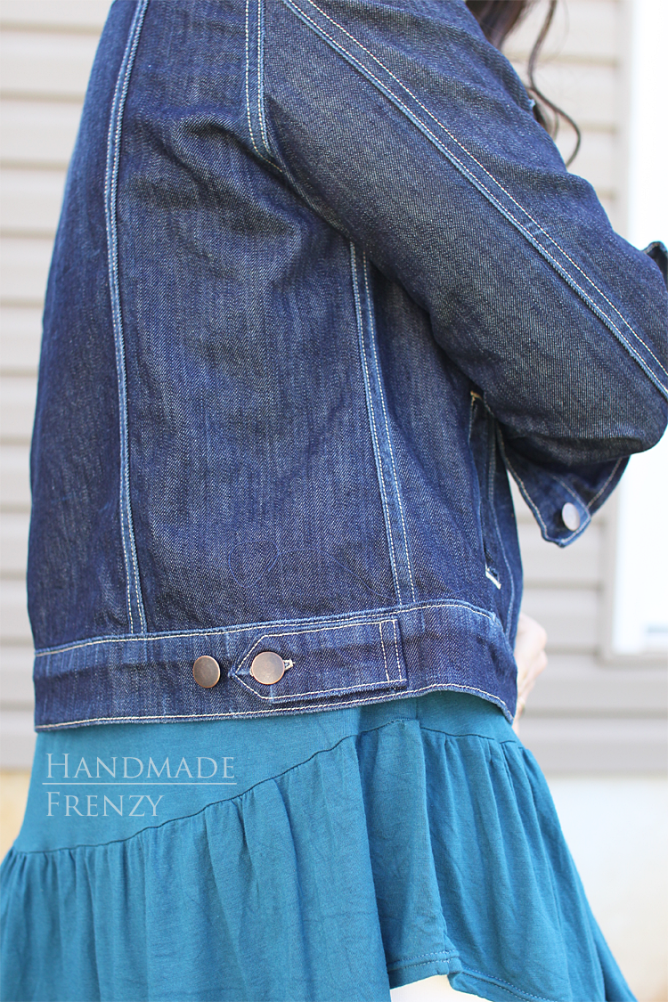 Hampton Jean Jacket // Sewing For Women