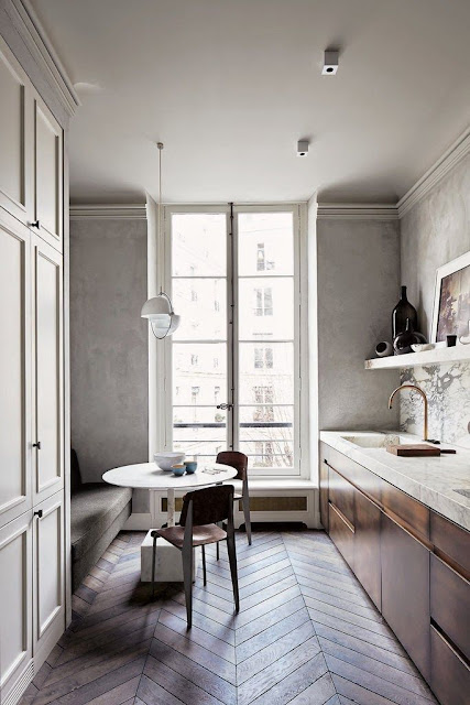 Clean and minimal kitchen