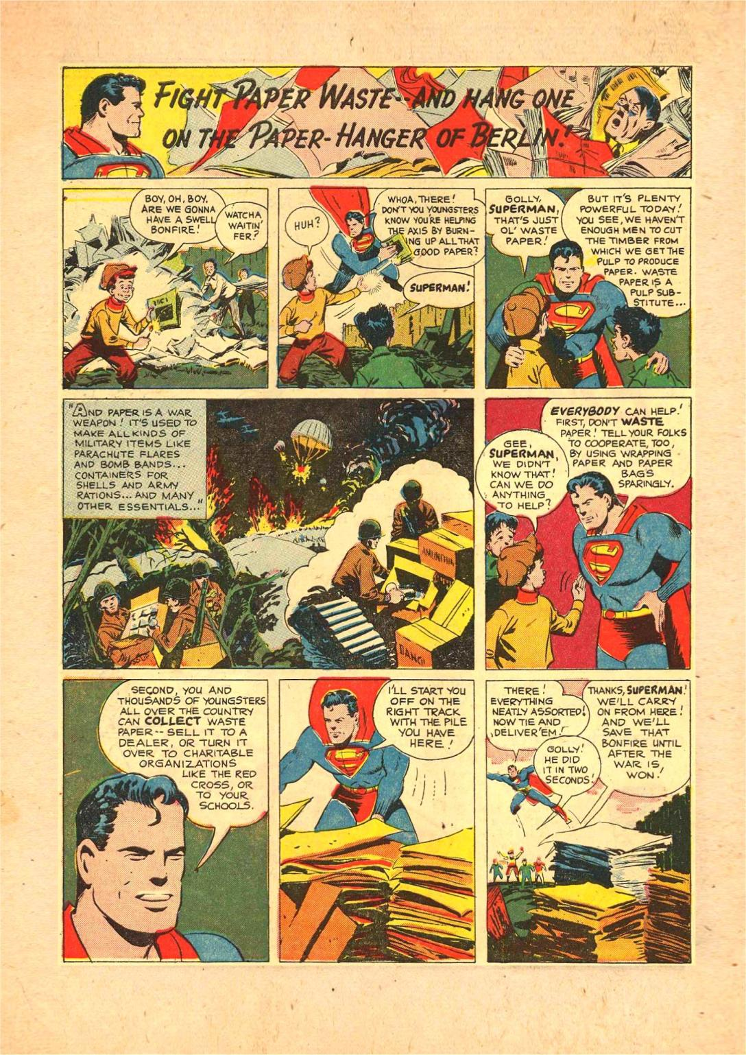 Read online Action Comics (1938) comic -  Issue #70 - 16