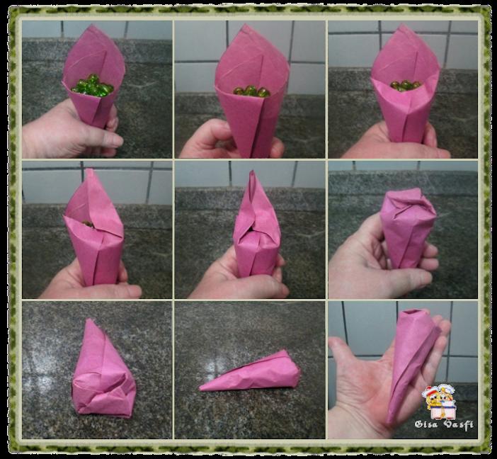 Cone de papel 3