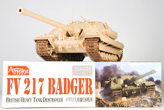 Construction Review: 1/35th scale FV 217 Badger from Amusing Hobby
