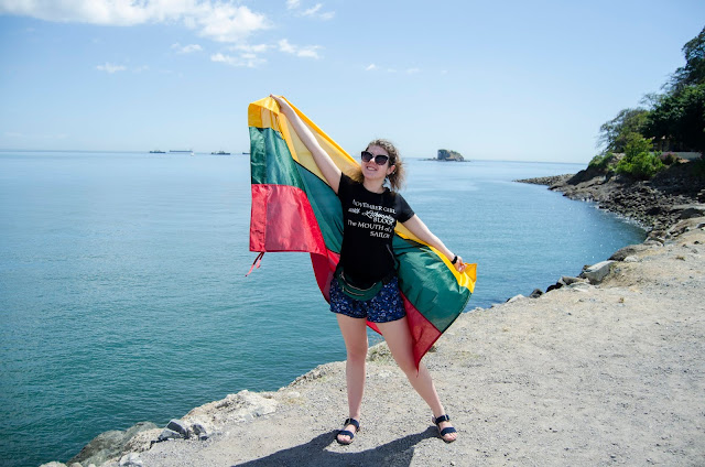 Amador Casuaway; Panama; Panama CIty; Ocean; lithuanian girl; lithuania