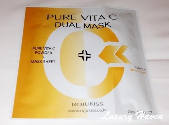 bellabox rojukiss pure vita mask