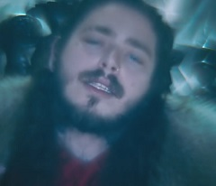 Post Malone lança clipe de Rockstar