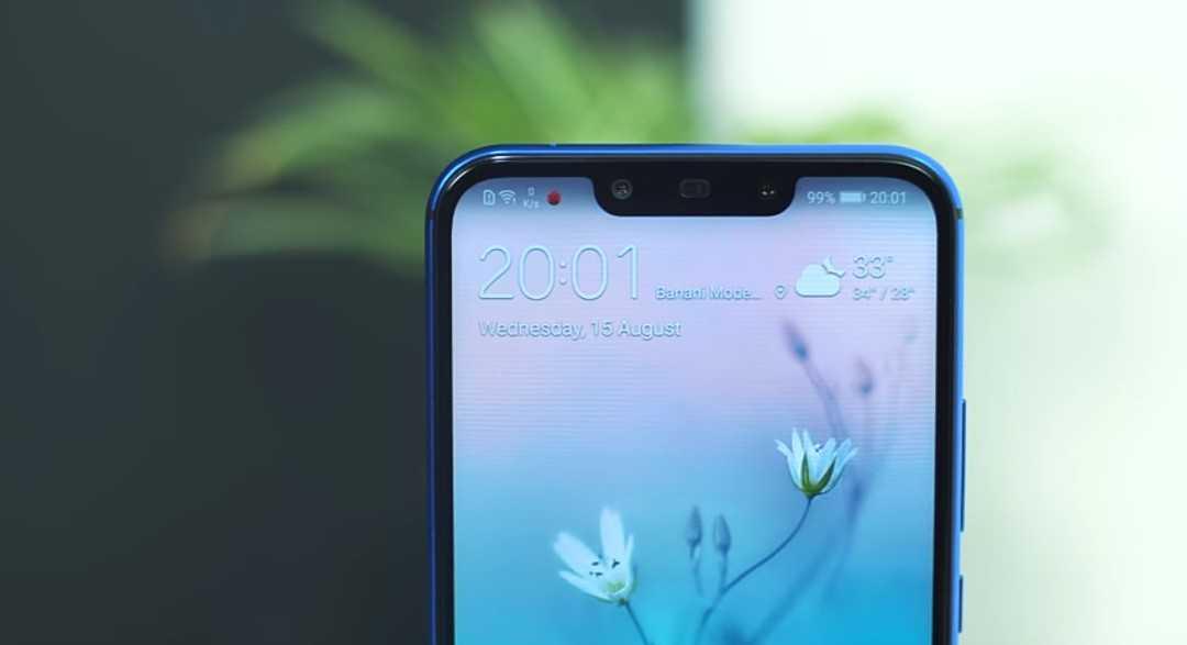 Huawei Nova 3i Front Facing Cameras