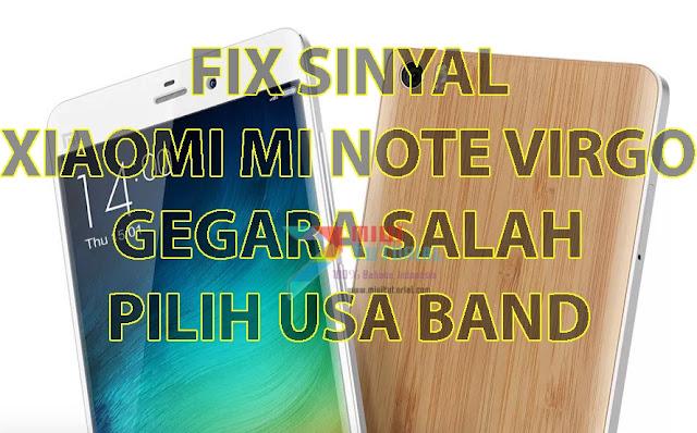Sinyal di Xiaomi Mi Note Virgo Kamu Hilang Gegara Tidak Sengaja Memilih USA Band? Coba Tutorial Cara Memunculkannya Lagi Berikut Ini