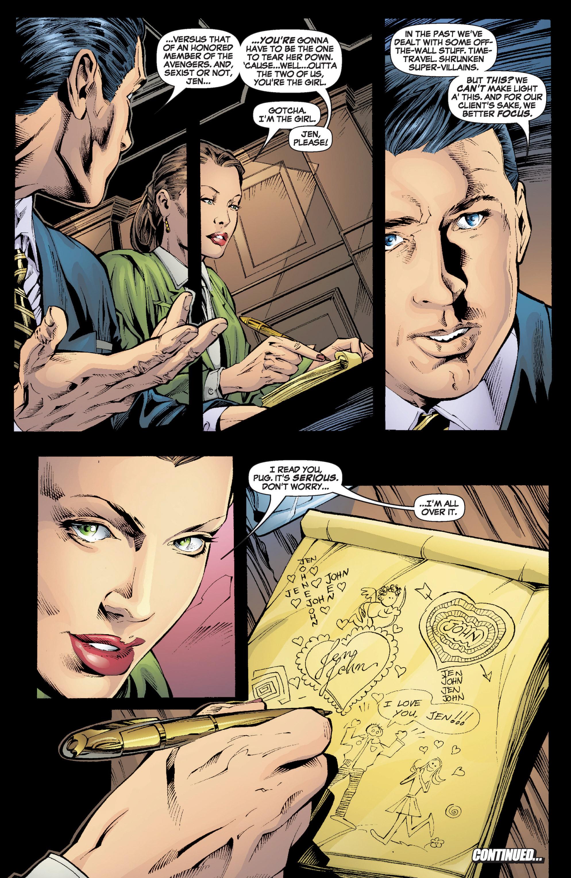 Read online She-Hulk (2005) comic -  Issue #6 - 23