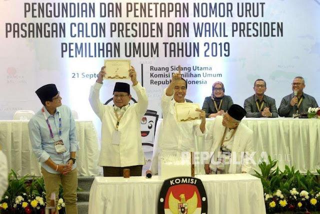 Filosofi Nomor Urut Dua Matikan Langkah Jokowi-Ma'ruf