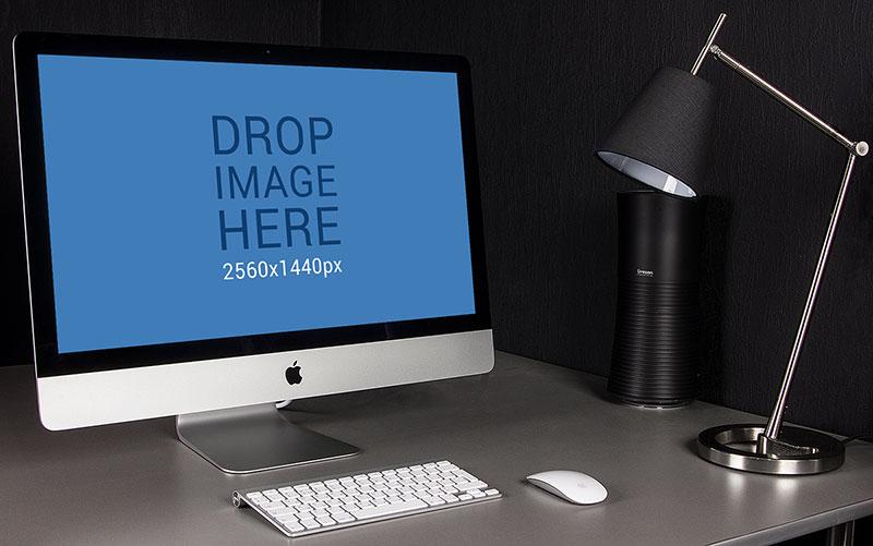 PSD iMac Mockup