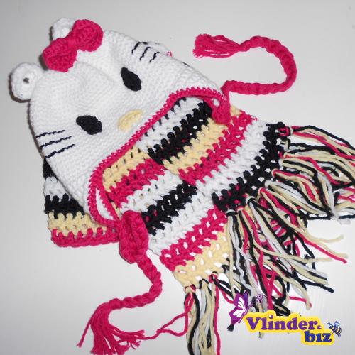 Vlinderbiz Hello Kitty Muts