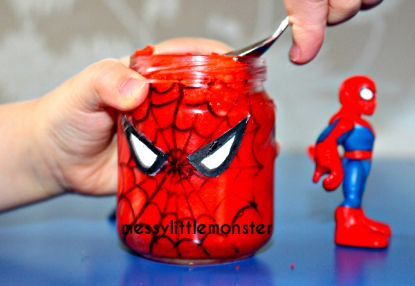 Superhero craft and activity ideas for kids- spiderman