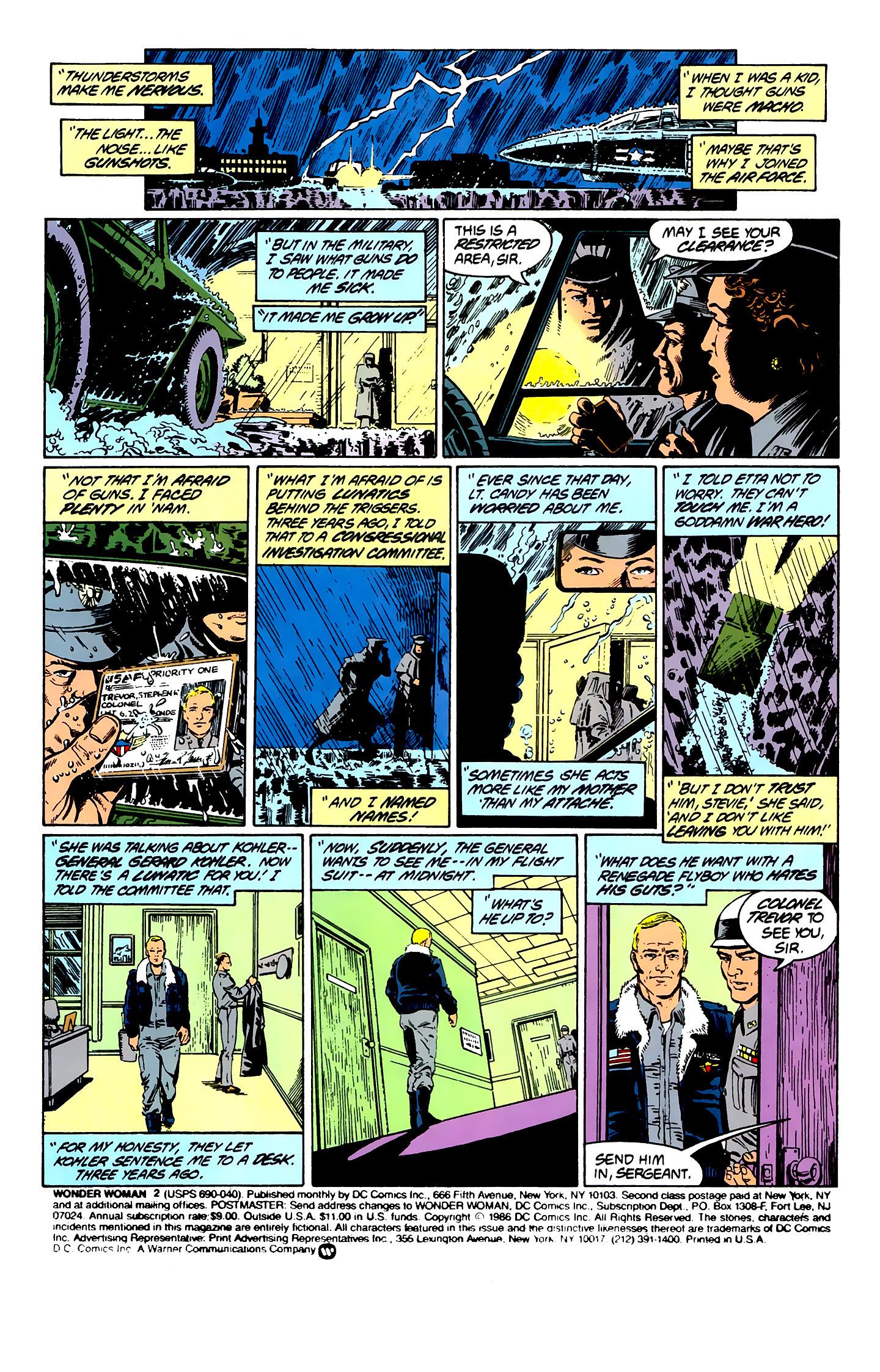 Read online Wonder Woman (1987) comic -  Issue #2 - 2