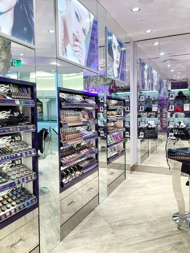 Urban Decay store Vancouver Metrotown Burnaby sneak peek