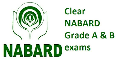 Clear NABARD Grade A & B exams