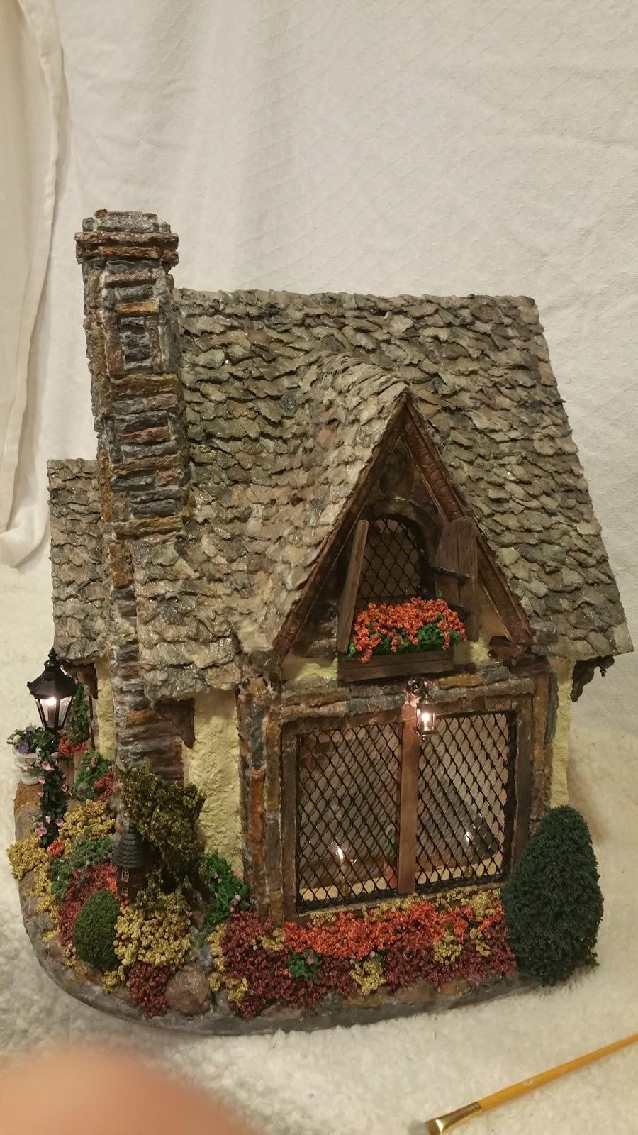 Greggs Miniature Imaginations English Cottage October 2015