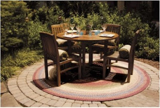 outdoor Polypropylene braided rug