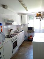 apartamento en venta frente escuela vela benicasim cocina