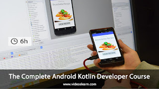 The Complete Android Kotlin Developer Course