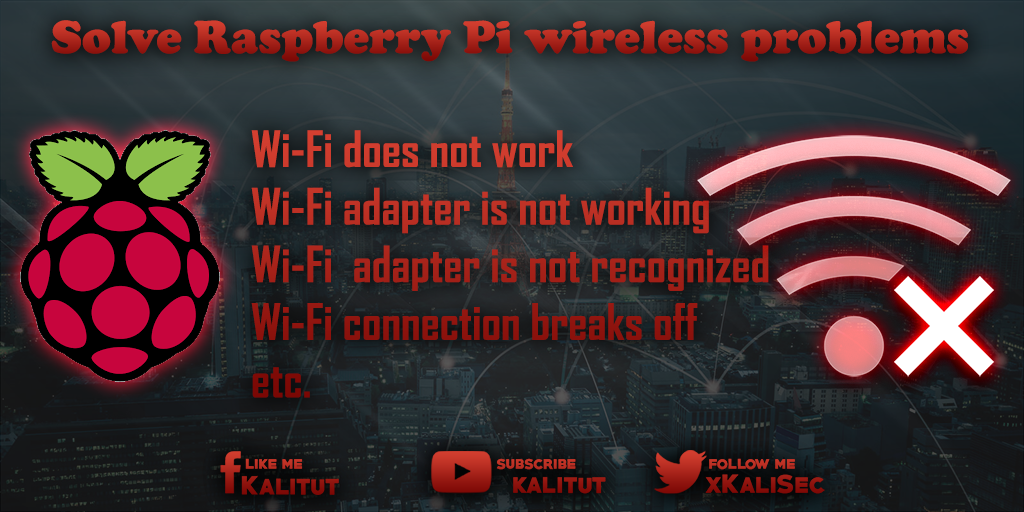 Fix Raspberry Pi wireless