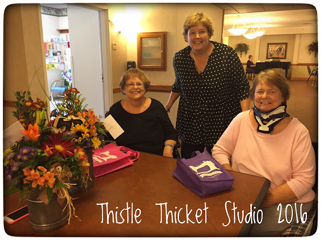 Thistle Thicket Studio, Jenny Doan, Missouri Star Quilt Co, surprise visit